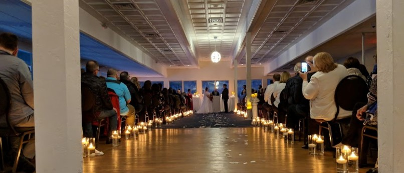 upper ballroom for events and weddings